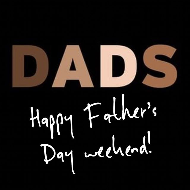 Wishing fathers of all hues a wonderful weekend full of #soul.