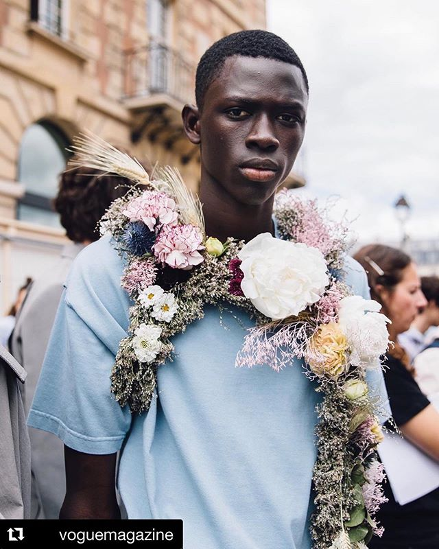 #Repost @voguemagazine  @virgilabloh's latest collection for @louisvuitton revealed a softer side. Tap the link in our bio to see every look from the Spring 2020 show. Photographed by @styledumonde. #soul #style