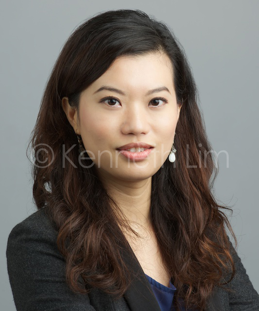 corporate headshot hong kong hedge fund asian woman permed hair