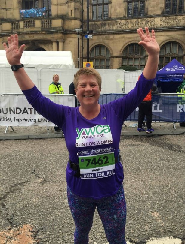 Here's Harriet, one of our runners from the 2018 Sheffield half marathon