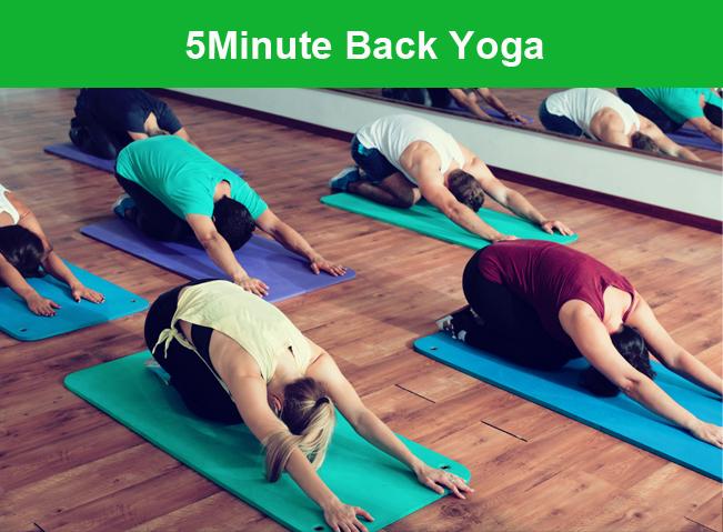 5Minute Back Yoga