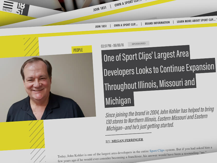 John Kohler Expansion in the Midwest