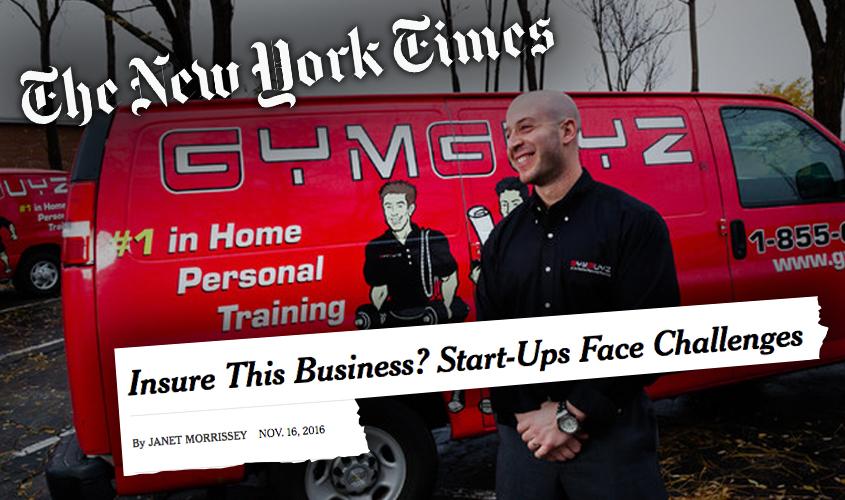 GYMGUYZ in The New York Times