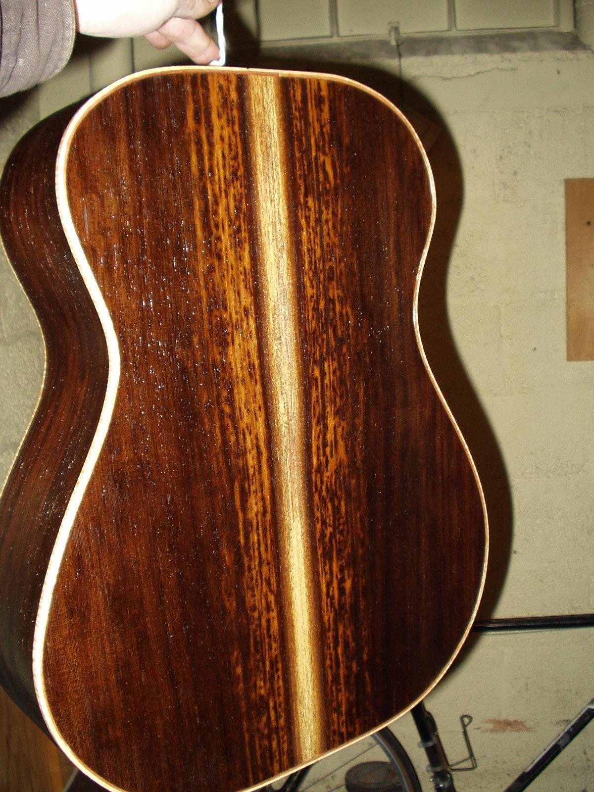 Custom Guitar for Bill Buck (RIP)