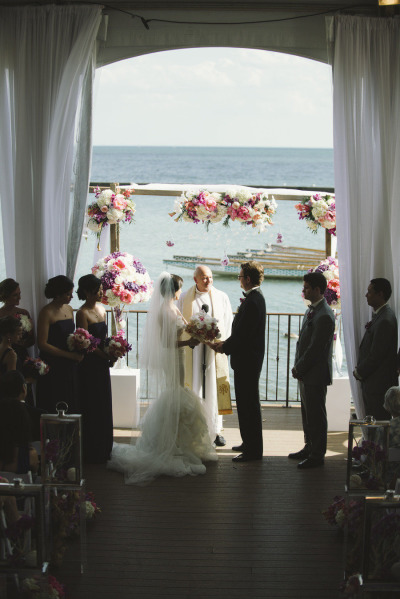 coral and purple wedding ceremony.jpg