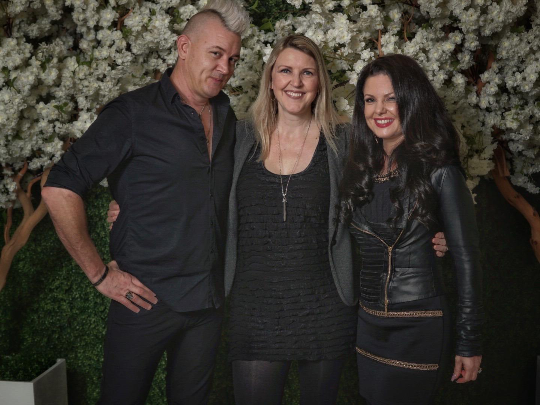 Kevin, Lisa and Tamara