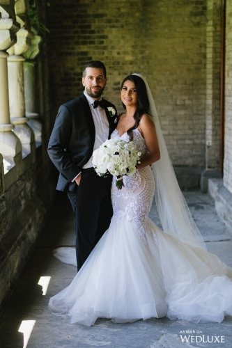Ashley and Alburt featured in  Wedluxe Magazine  Photos by  Mango Studios