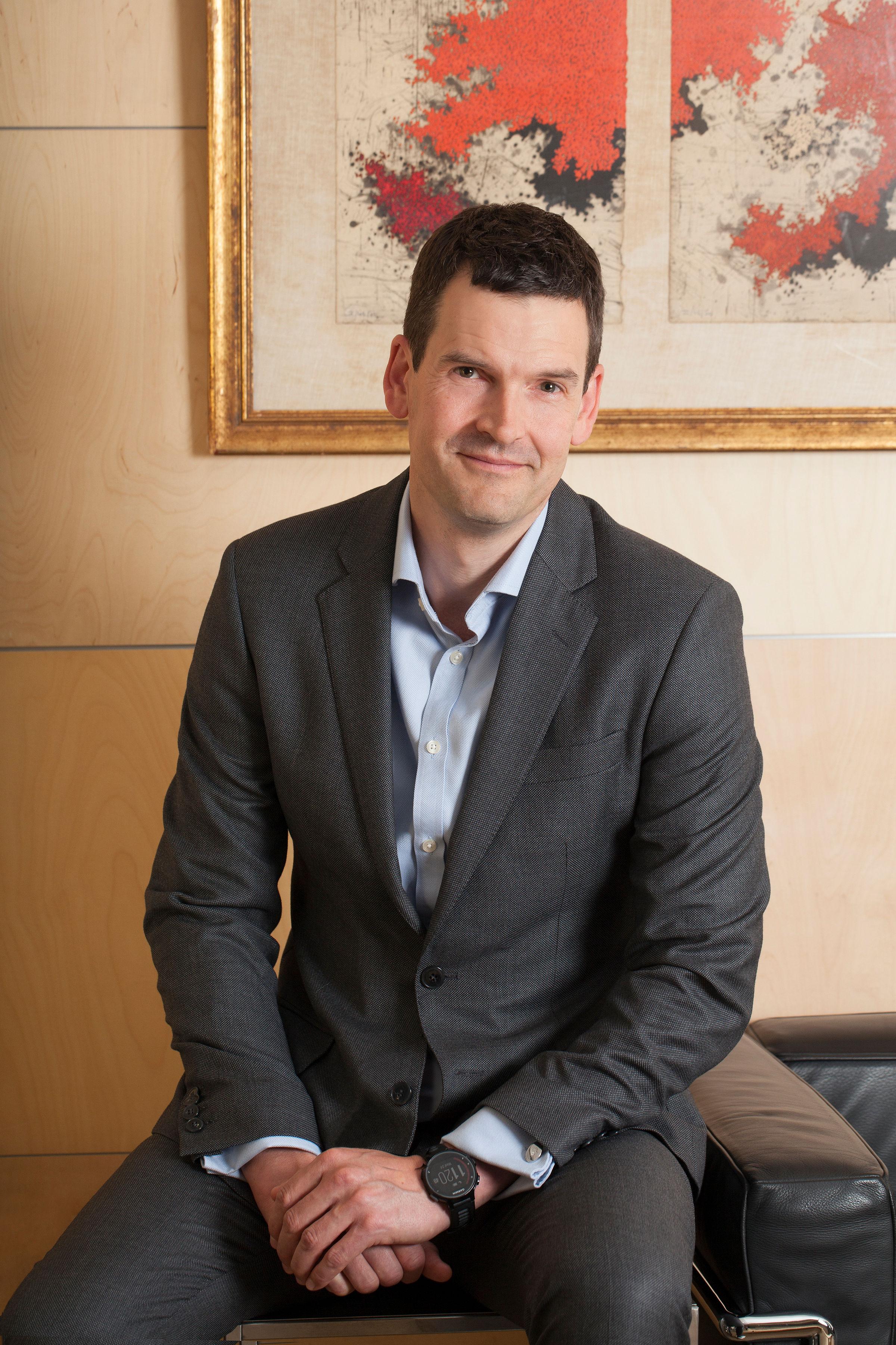 Howard Rees, Head of International Sales