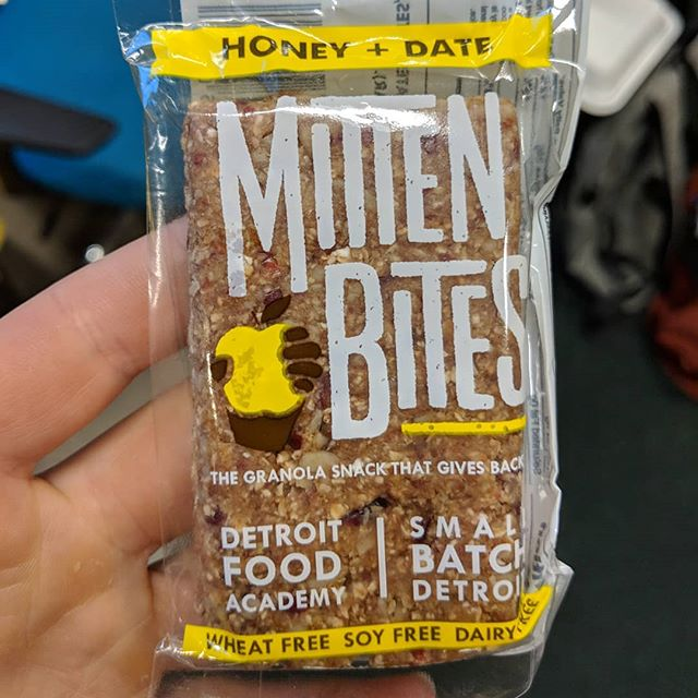 New Honey + Date #MittenBites from @detroitfoodacademy are looking mighty tasty! Get em while they're hot at a pop-up near you!