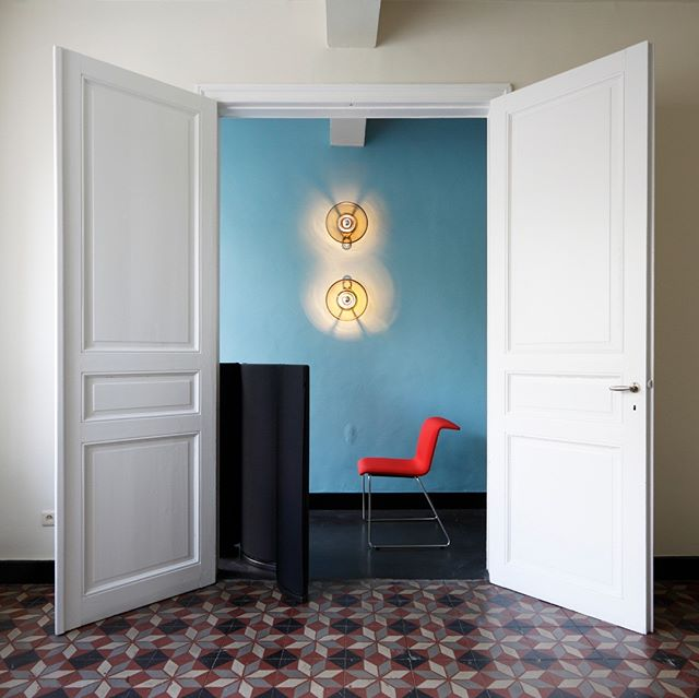 Great shot of the @bulofurniture Tab Chair from a shoot in Brugge last year.