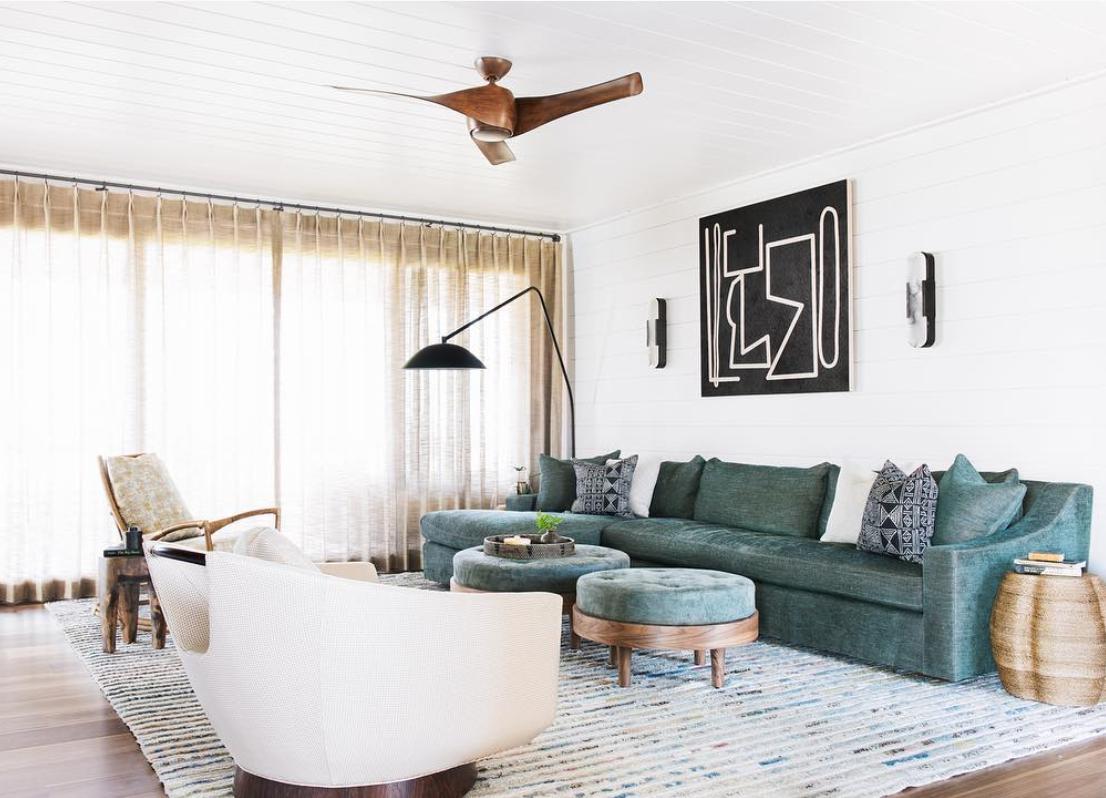 Interior design by  Courtney Bishop