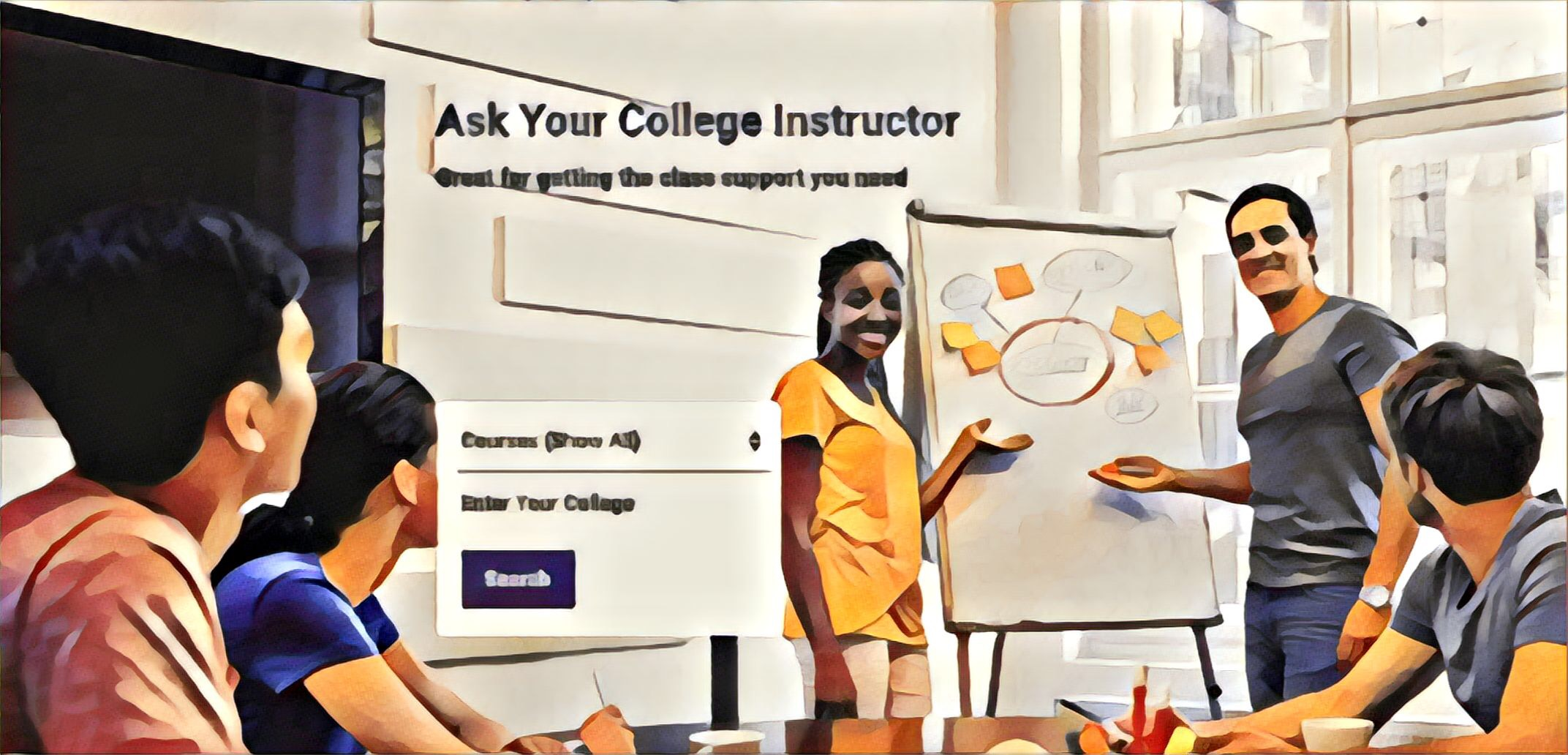 - Tradepal seeks to bridge the gap between students and existing academic support resources on campus. We aim at making those resources available to students by giving them remote access to their student learning center tutors and their instructors' office hours anytime anywhere.