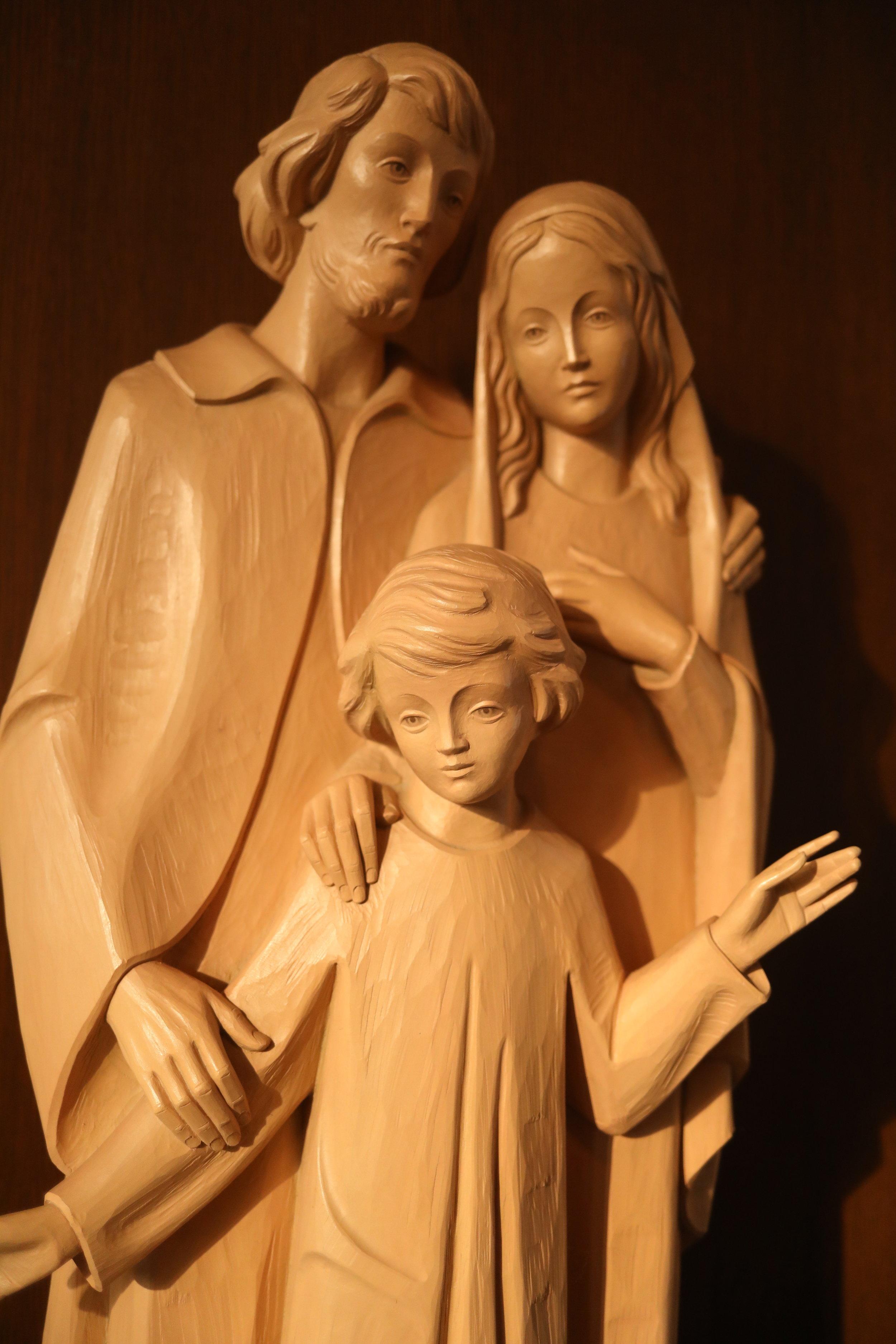 Holy Family statue.JPG