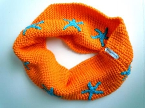 Dreamsicle Moby Infinity Scarf
