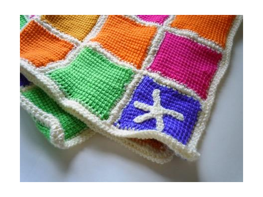 CounterPanes, the Beautiful Baby Blanket