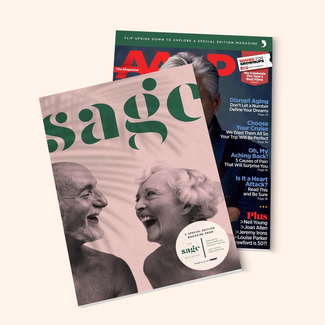 AARP Magazine x Sage