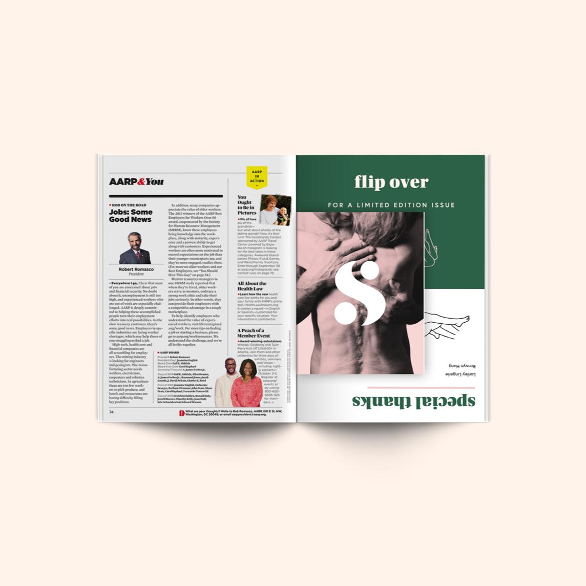 Magazine insert