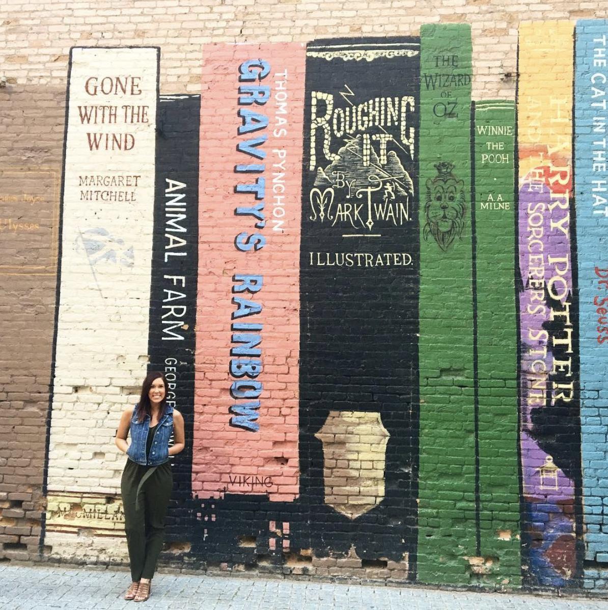 Salt Lake City's Famous Book Mural