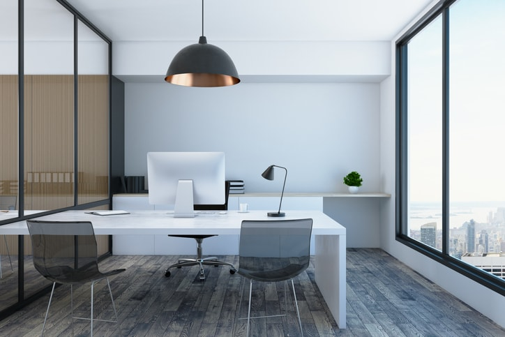 Being unable to give an office warmth or personality can make it feel uninviting