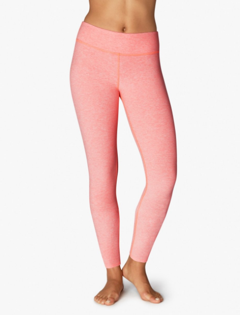 Spacedye Long Legging - Not a high waisted style, but high waisted is not for everyone.