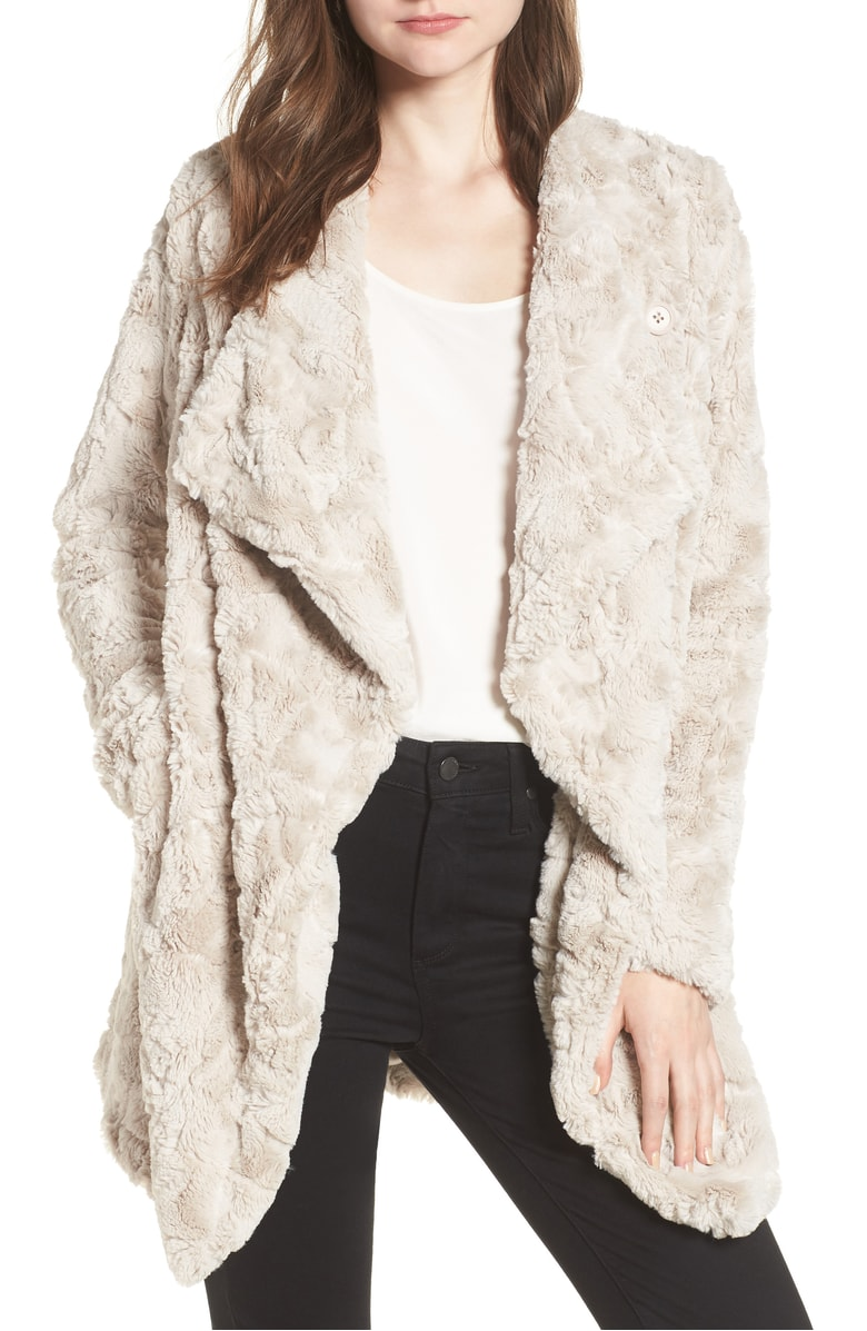 This one is a little pricier, it is $90 but it is BB Dakota which is a great brand, and this is a neutral timeless piece you can wear casually like this or with a dress and it will NEVER go out of style and is so so so comfortable.