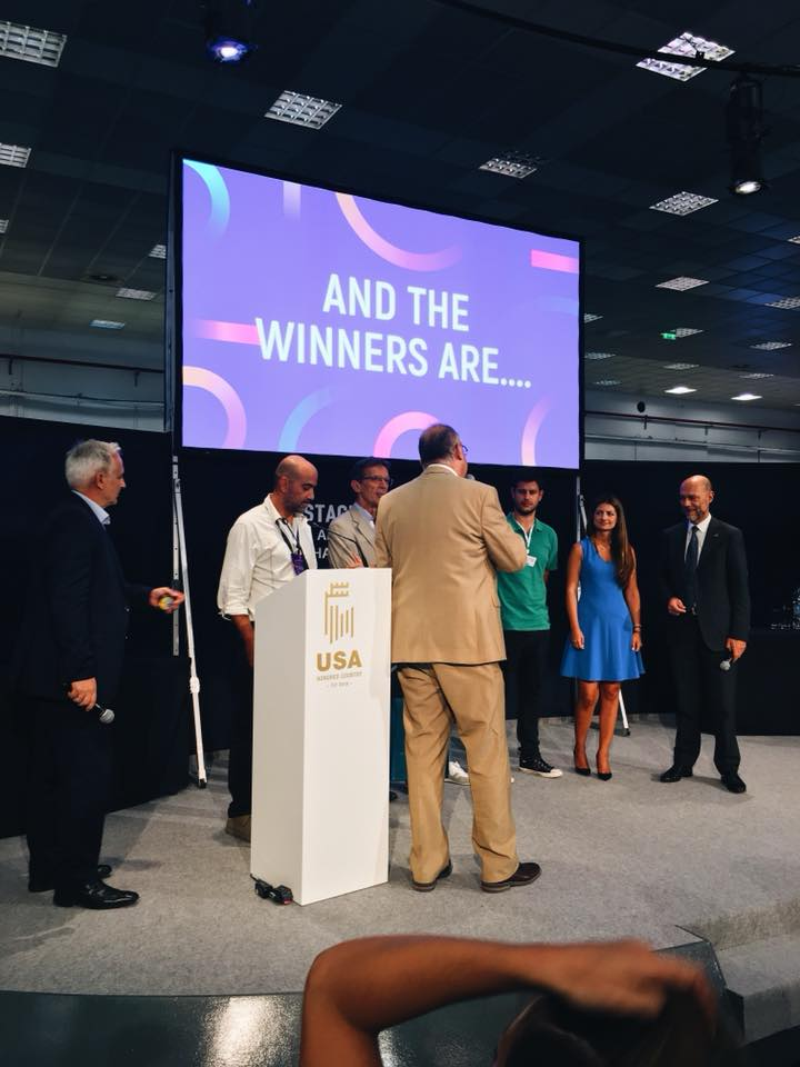 The Digital Greece Pavilion Startups Competition Awards Ceremony at TIF 2018.