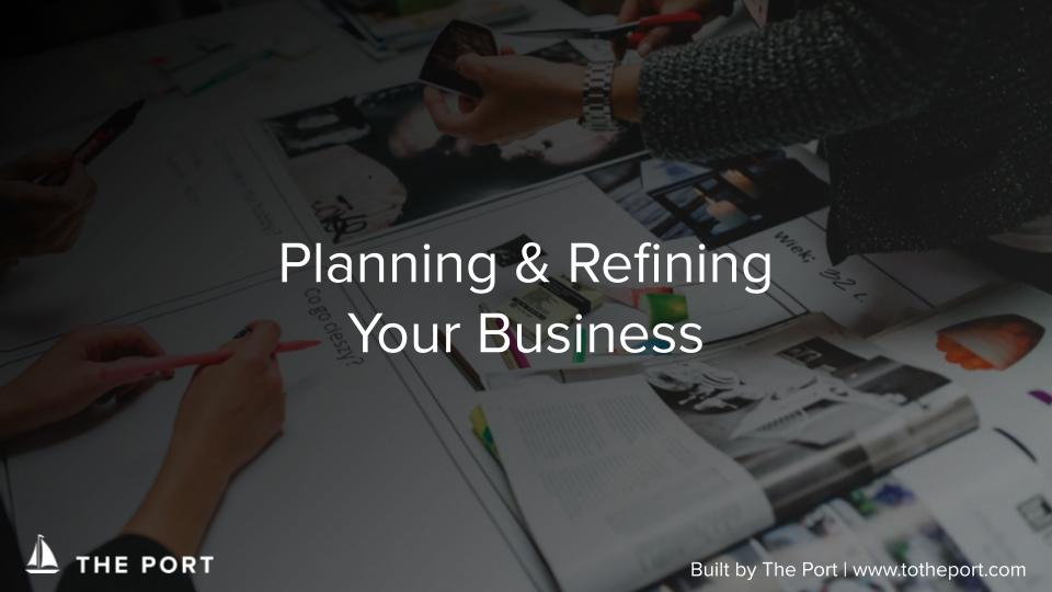 Business Plan Template - A startup fundamental: business planning using the staple Business Model Canvas framework.