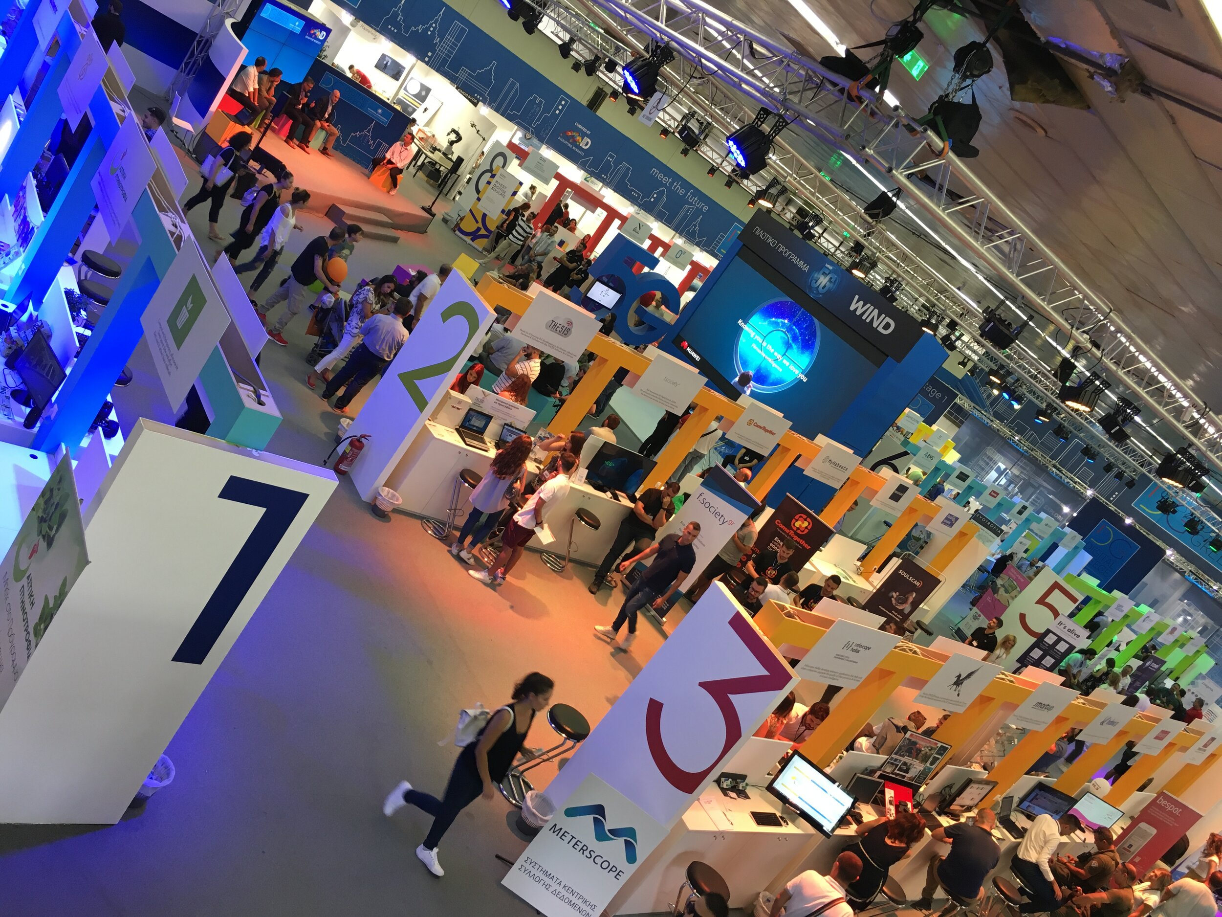Digital Greece Pavilion    at the 2019 Thessaloniki International Fair