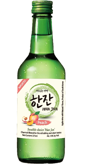 Hanjan Peach fortified wine