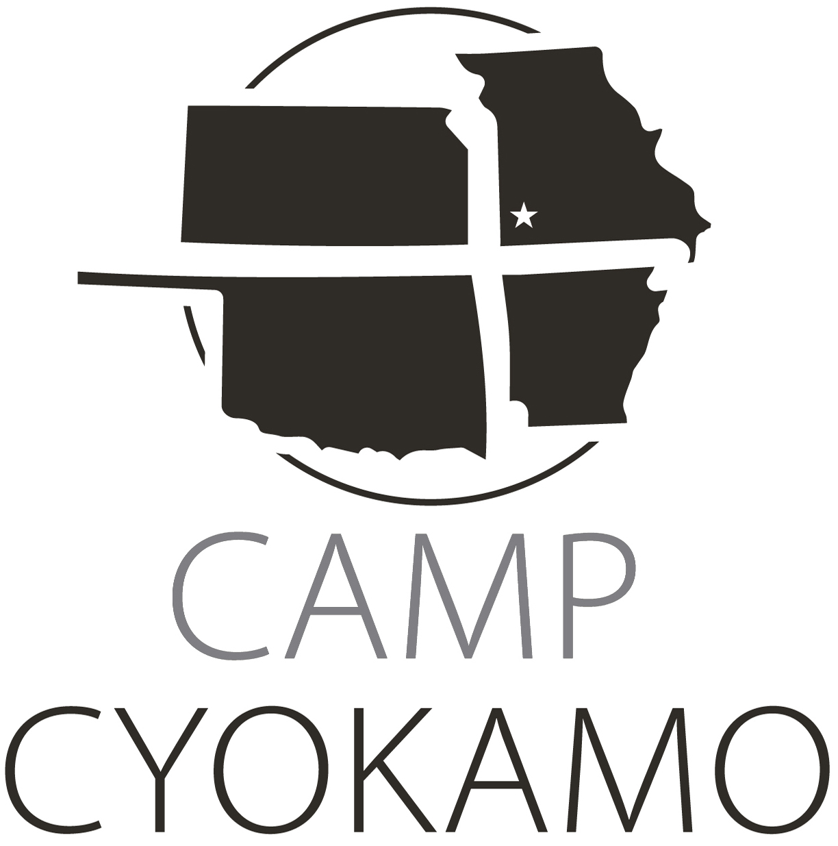 Camp Cyokamo Stacked Centered (gray) w star.jpg