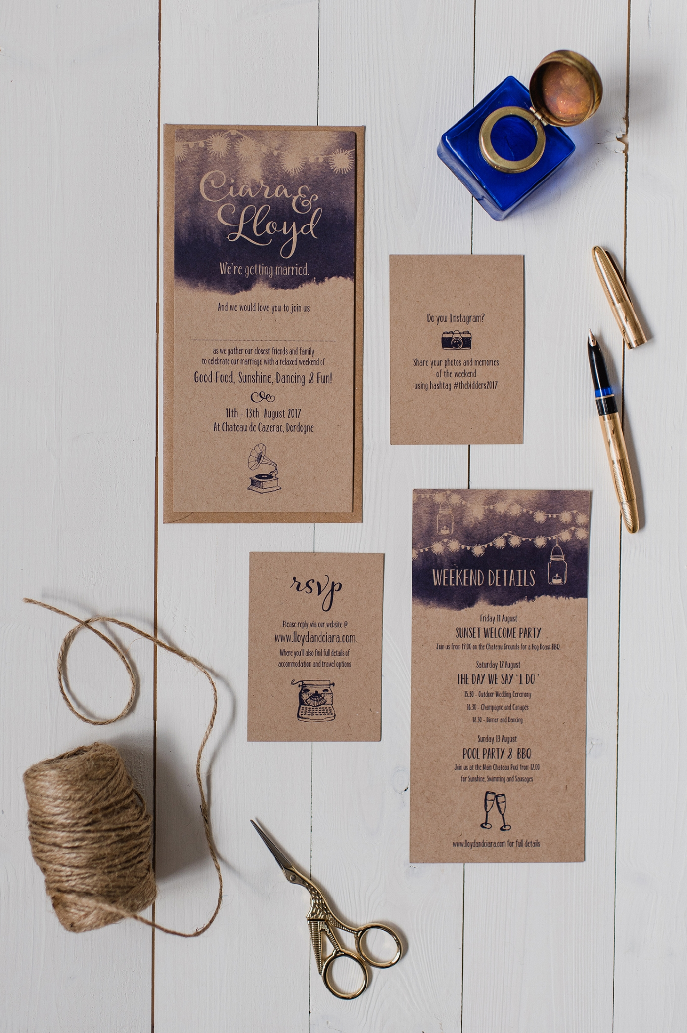 Northern Ireland Wedding Invitations