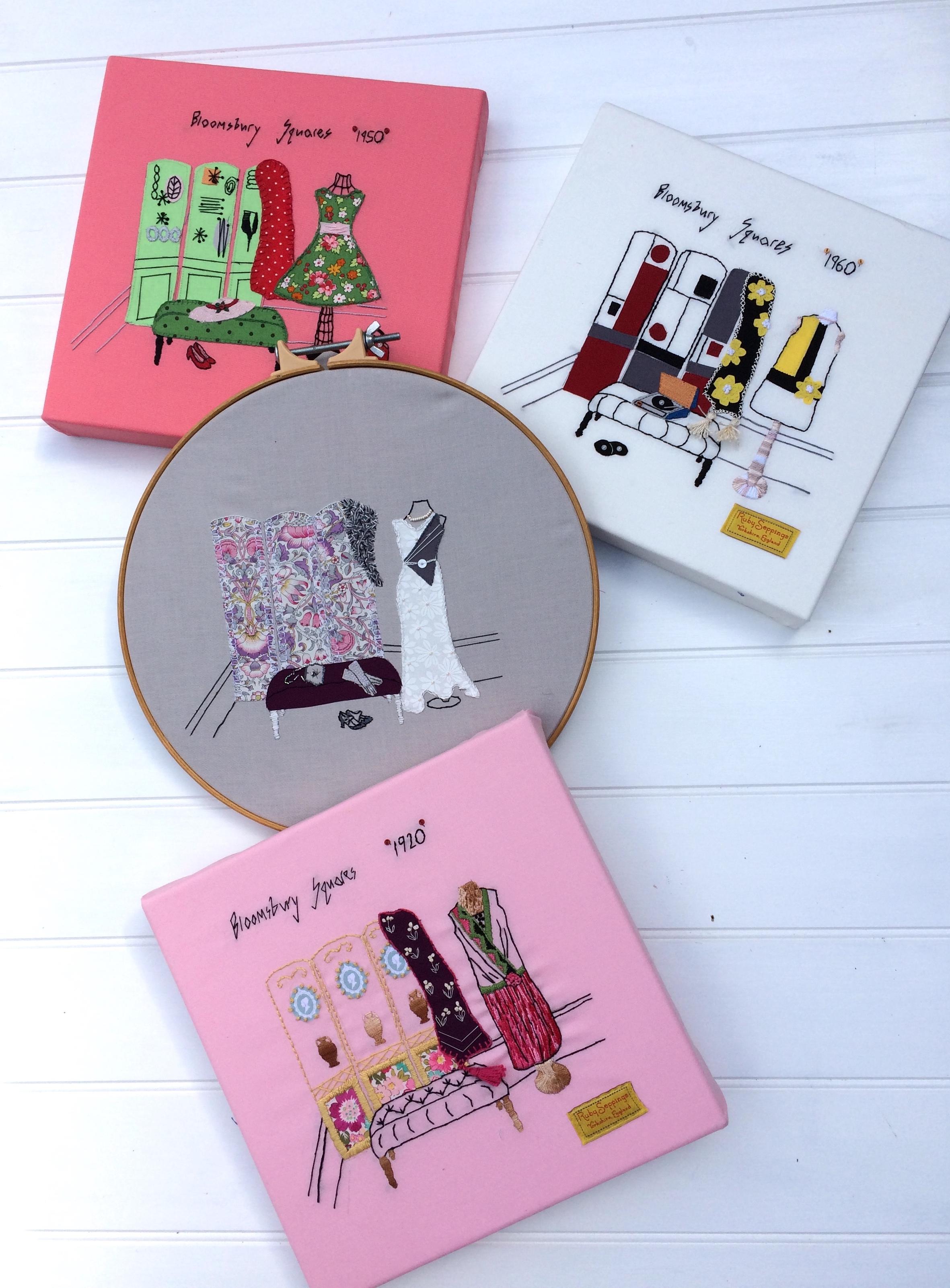 Bloomsbury Squares embroideries.JPG