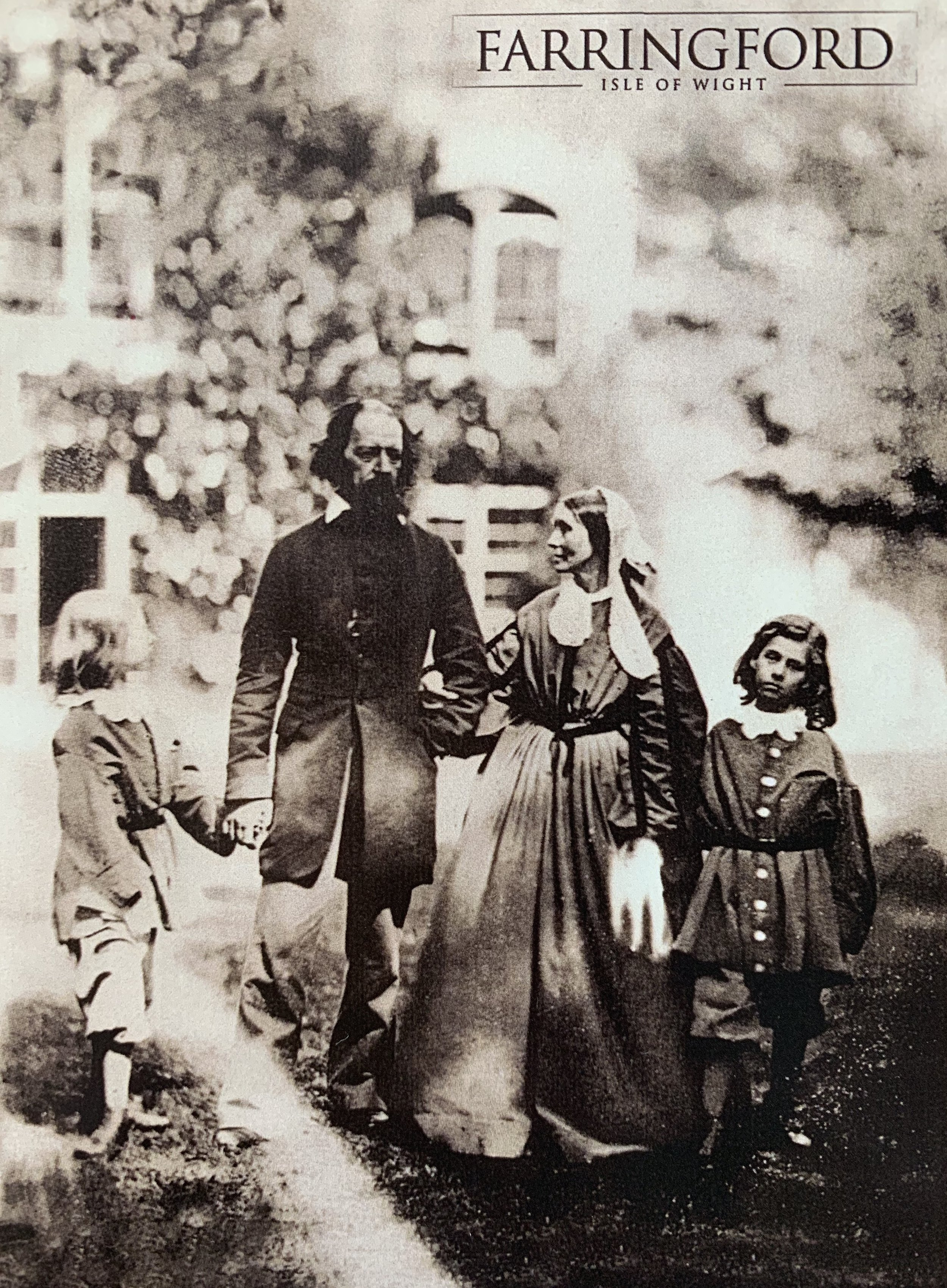 Farringford Tennyson family.JPG