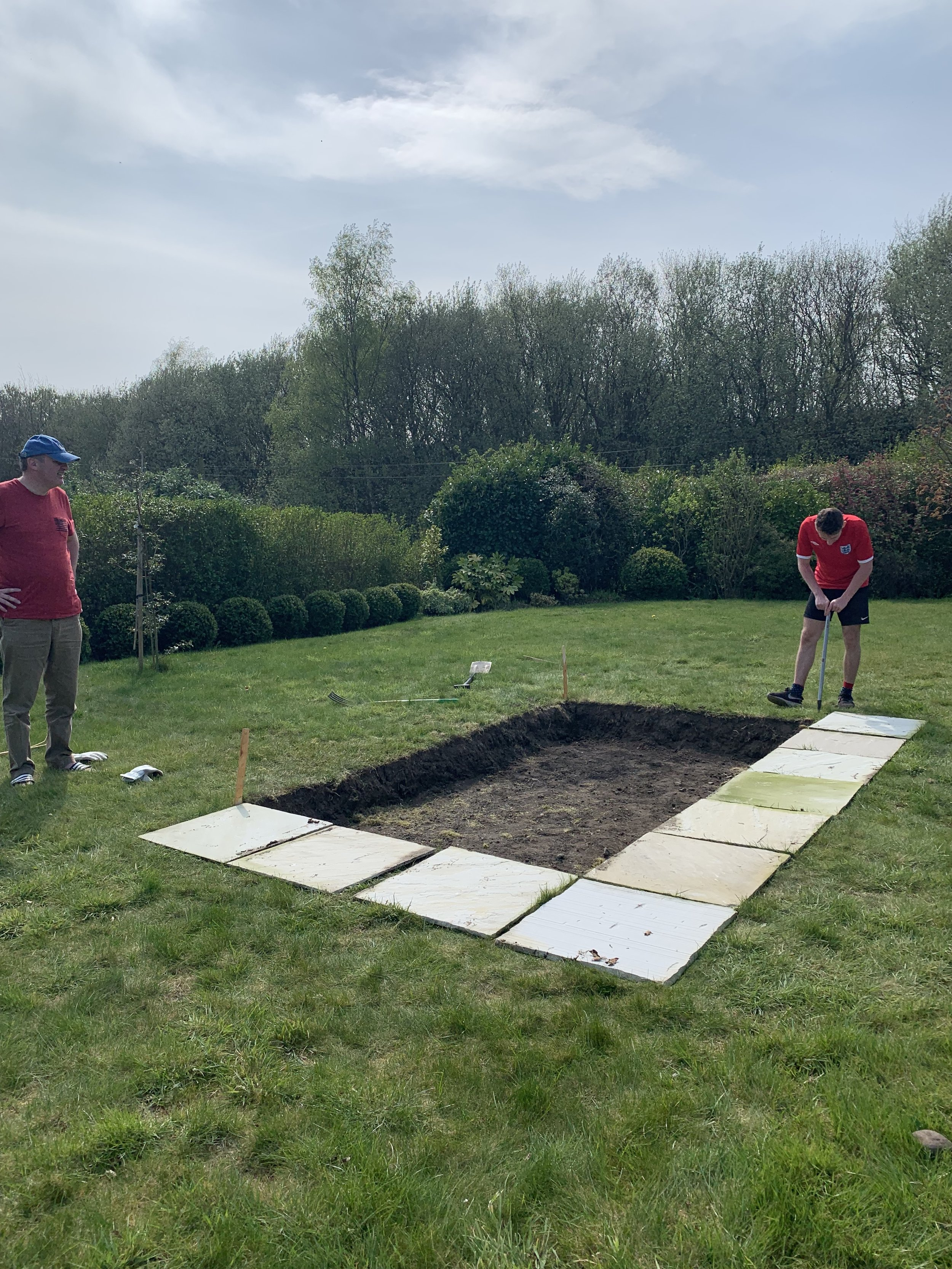 Building the Bird Pond.JPG