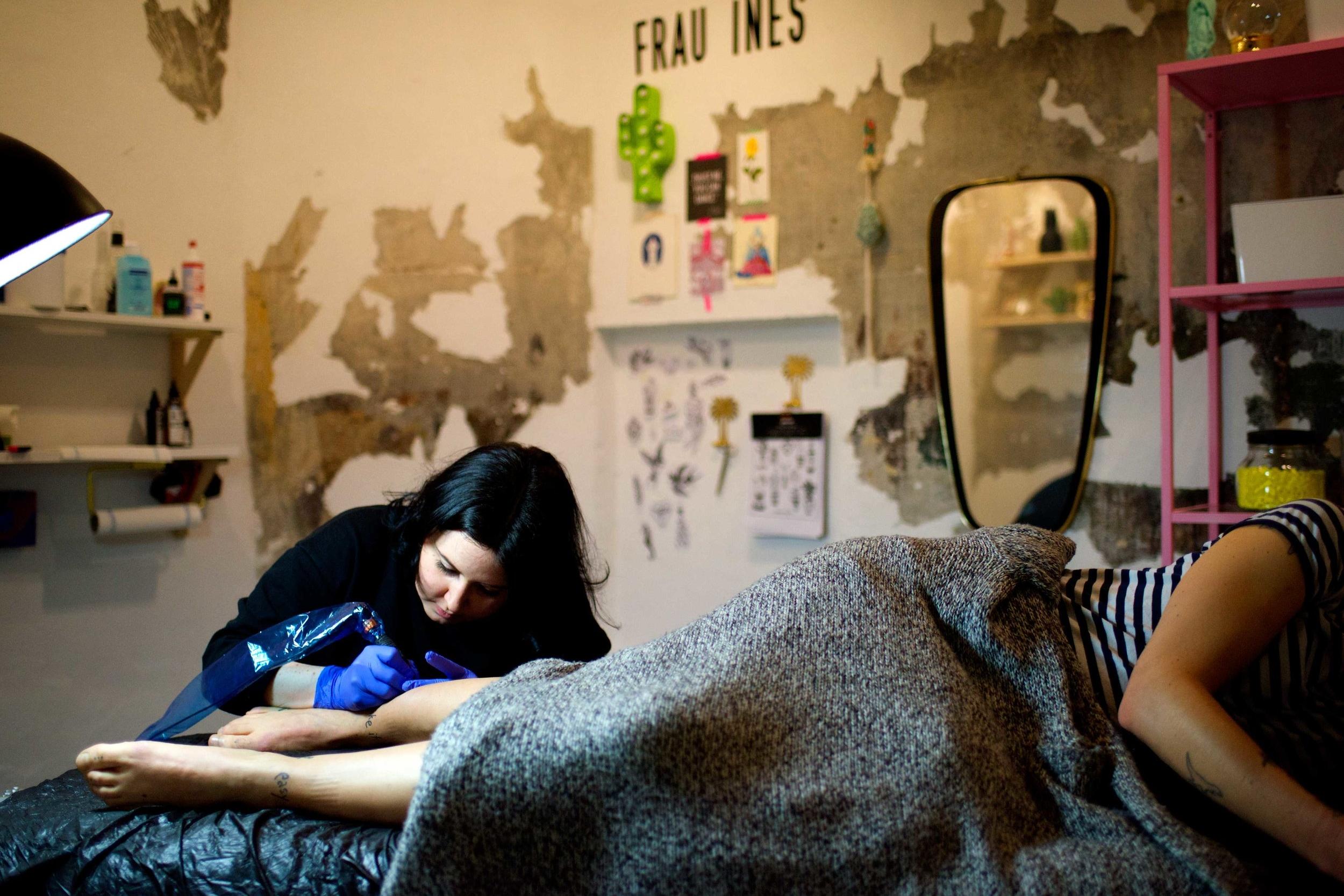 Frau Ines Tattoos