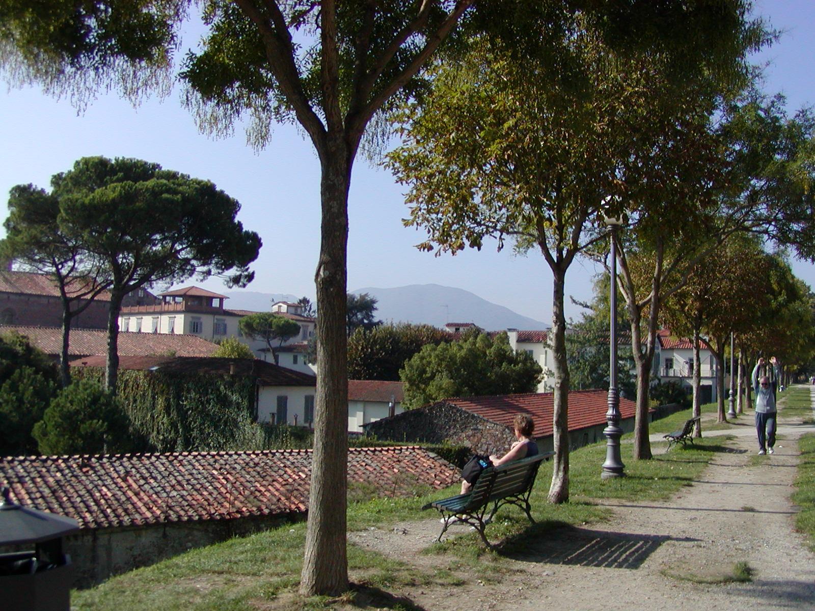 fra bymuren, Lucca.JPG