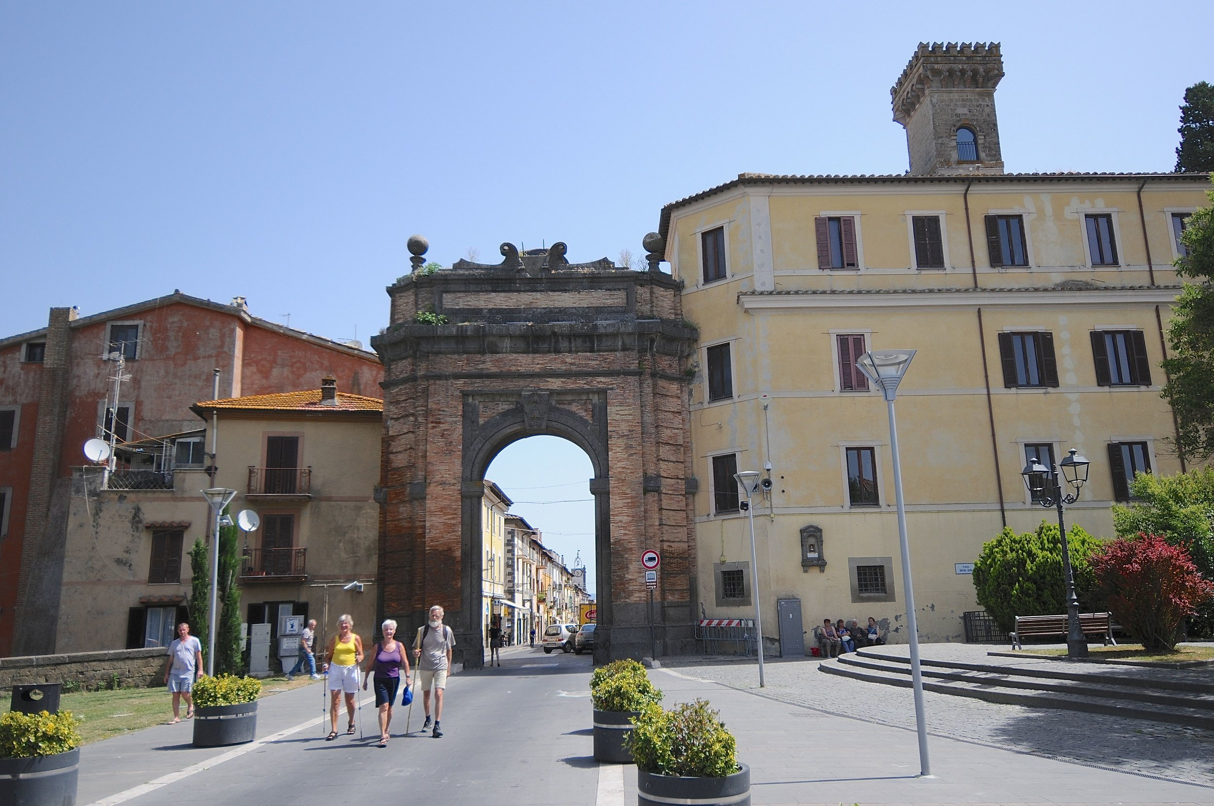 Campagnano di Roma - Porta Romano Foto Kjell Helle-Olsen (1).jpg