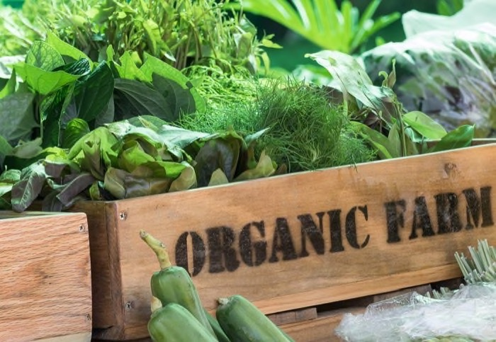 GO ORGANIC WHEREVER POSSIBLE -