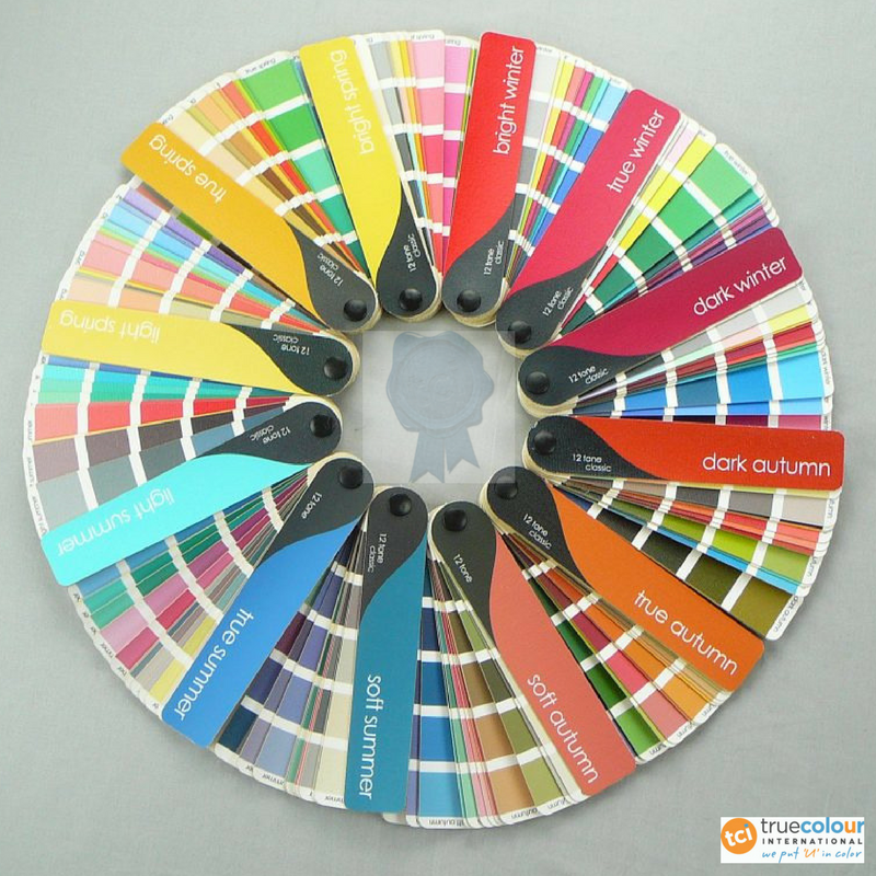 the 12 Seasons Color swatchbooks