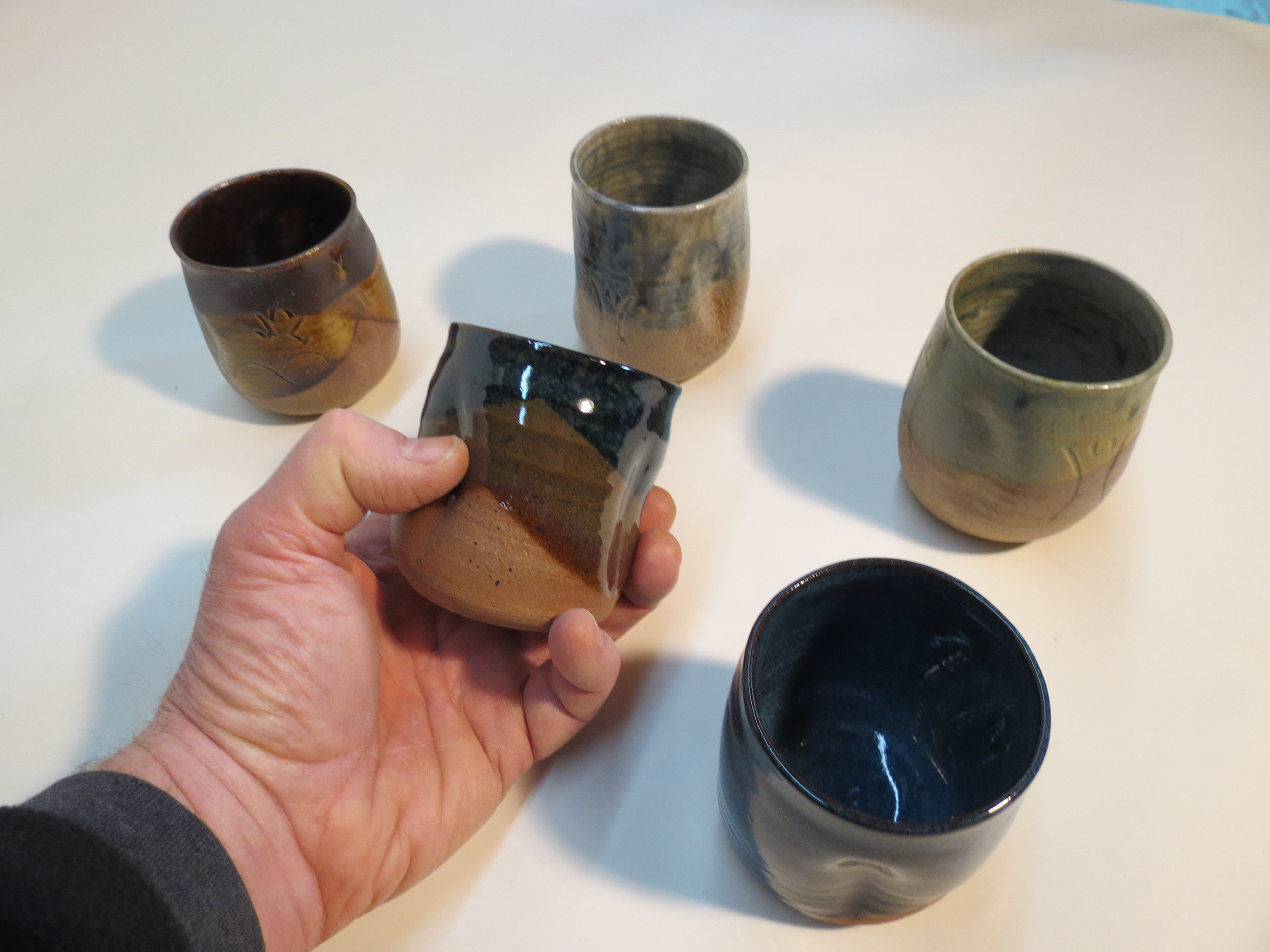 These small cups are great for the beverage of your choice. I use them for anything from water to tea to bourbon.