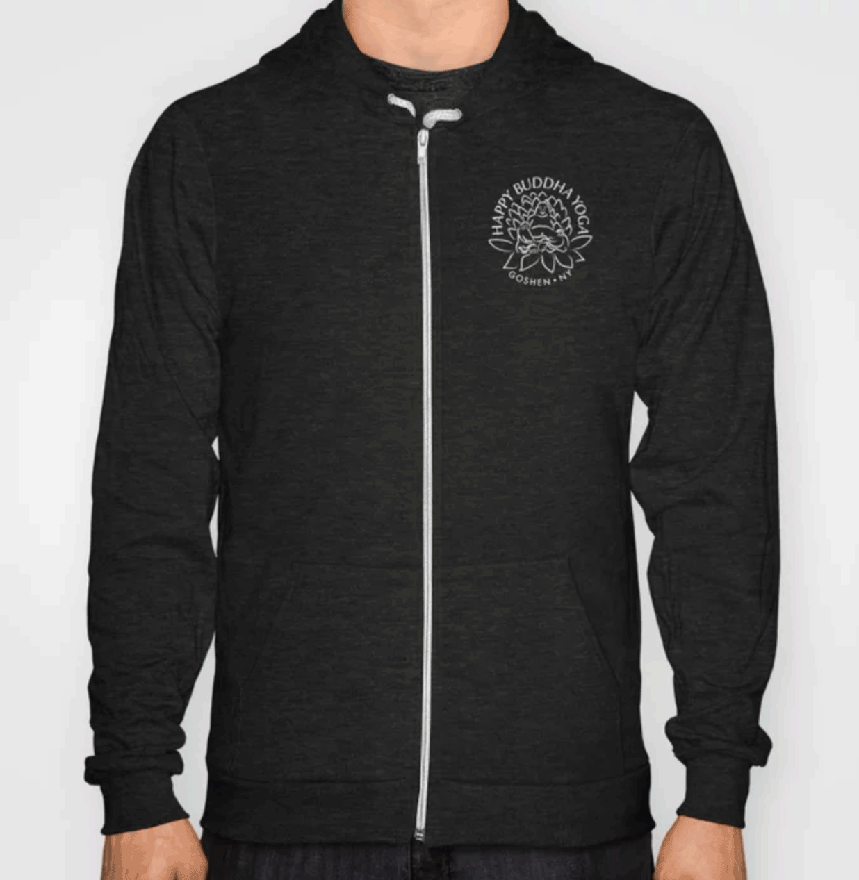 Comfy hoodies available in black, red, or grey