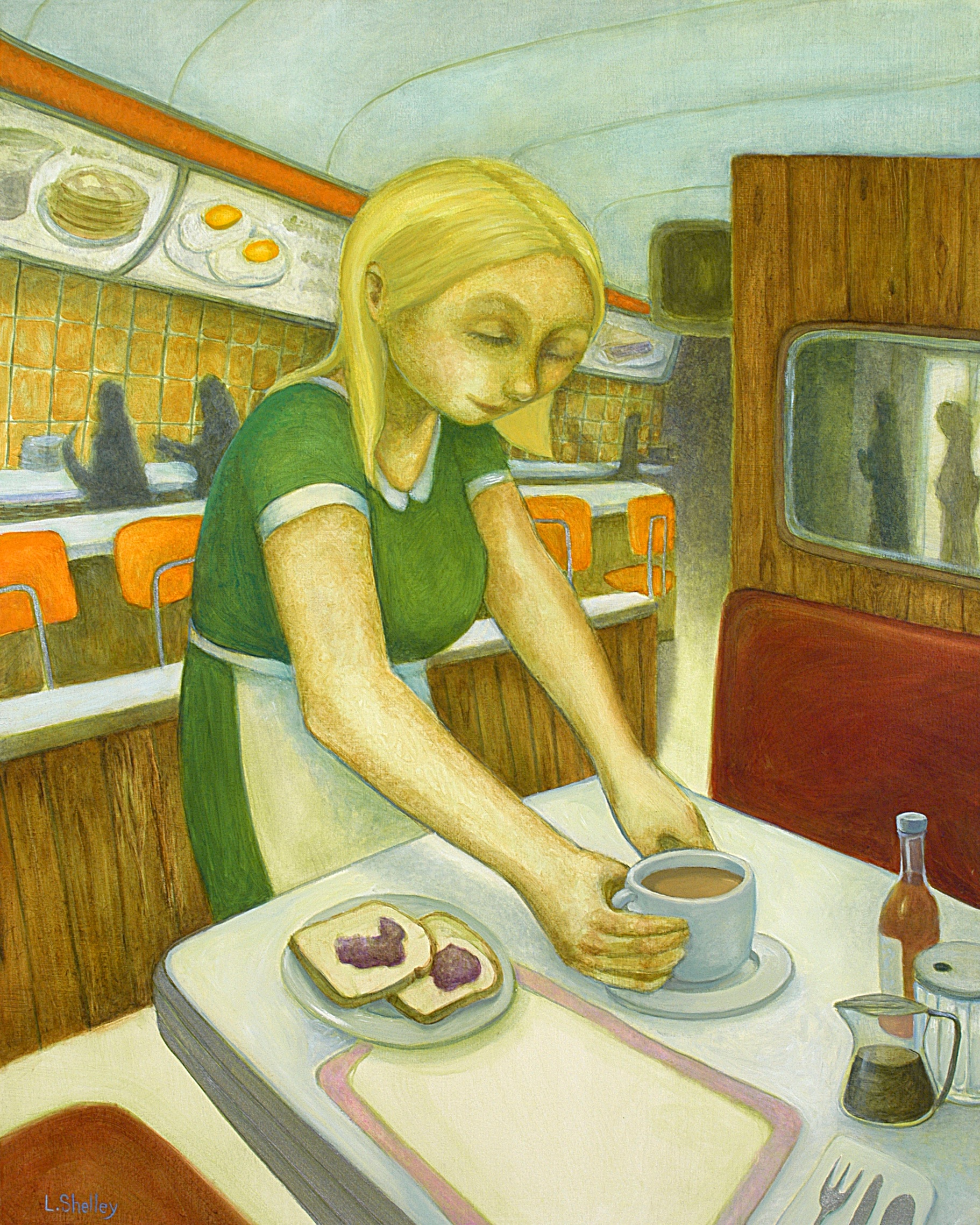 Diner Series - Toast and Jelly - sold