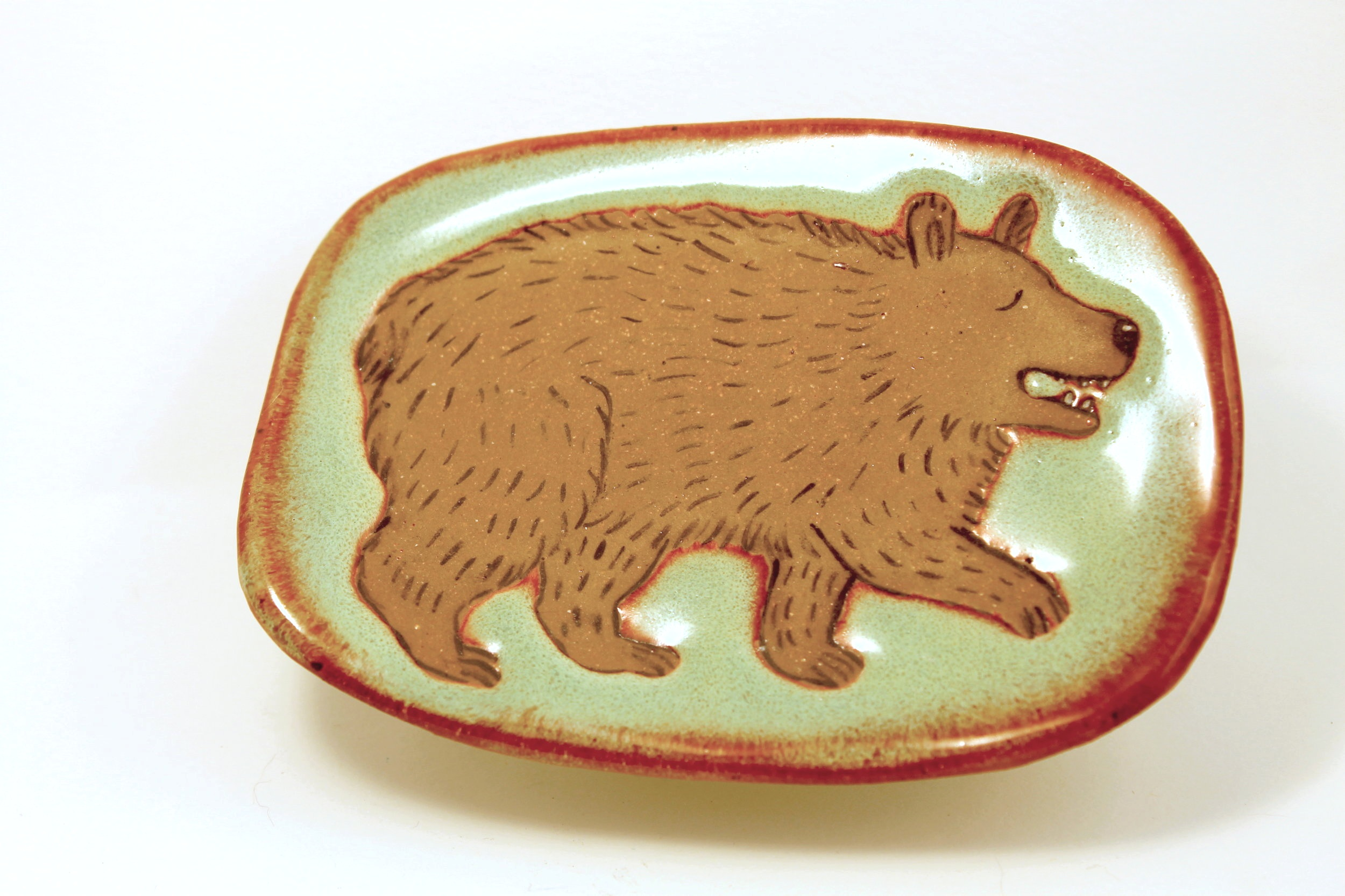 Bear jewelry trough