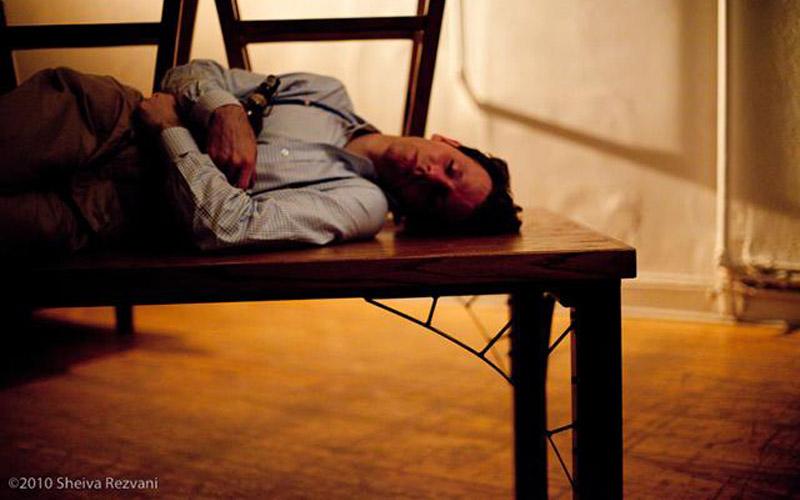 "s sir andrew aguecheek in fiasco theater's ""twelfth night.""| photo: sheiva rezvani"