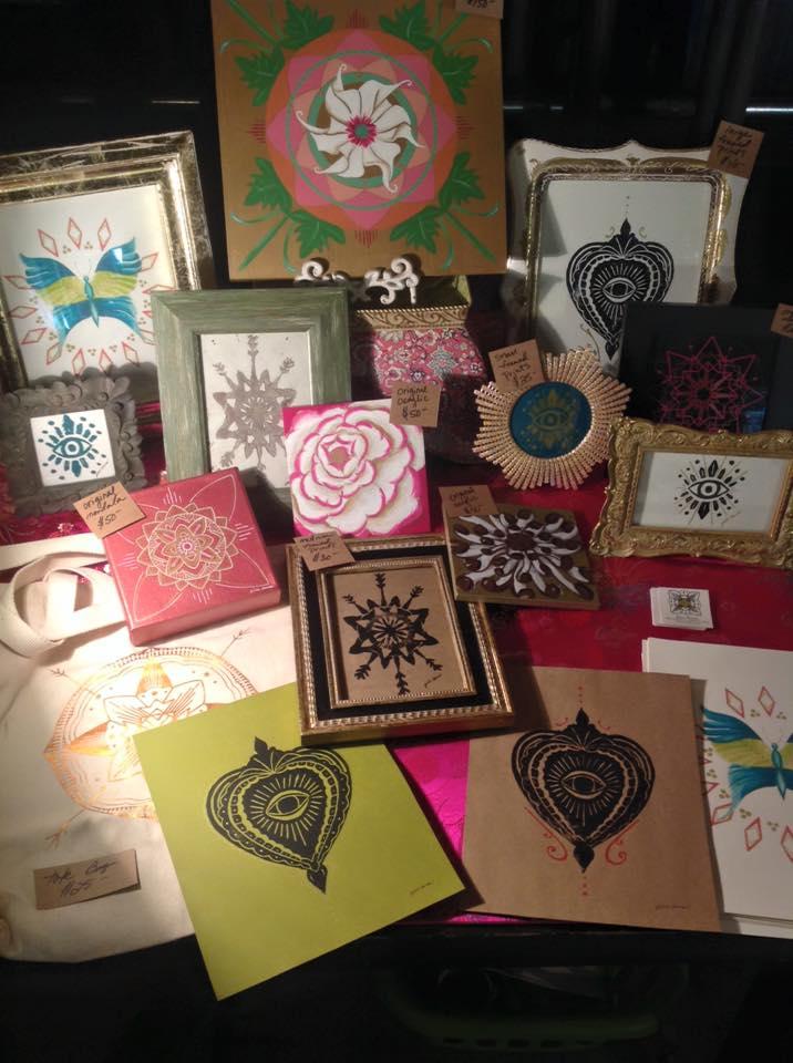 Flagstaff Art Artist Jill Sans The Green Room Indigo Art Market Collective