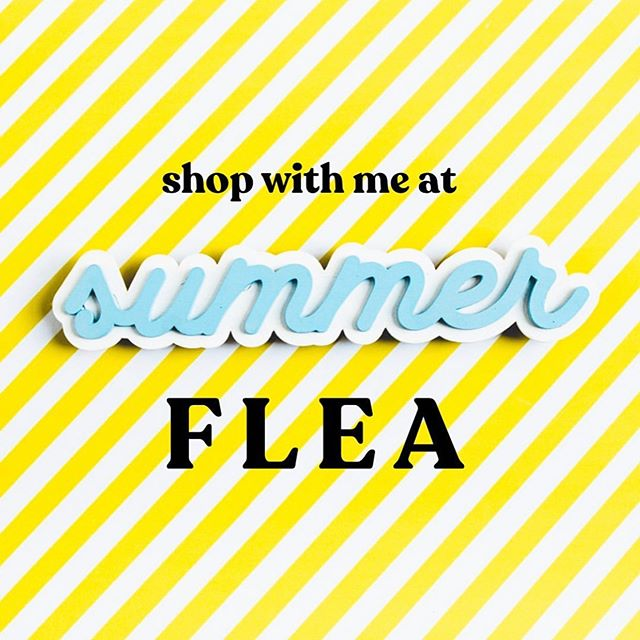 Tomorrow, tomorrow, TOMORROW!!! . We may not be able to use our arms from the elbows down, but we're all stocked up and EXCITED for the @clevelandflea . Catch us at booth #16 tomorrow and Sunday!!! 😘😘