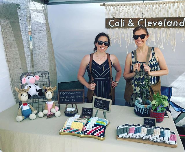 What a great introduction to the Cleveland Flea!  We had a blast meeting so many of you today! If you weren't able to make it, we'll be there all day tomorrow too!  10-5 at 3602 st. Clair ave