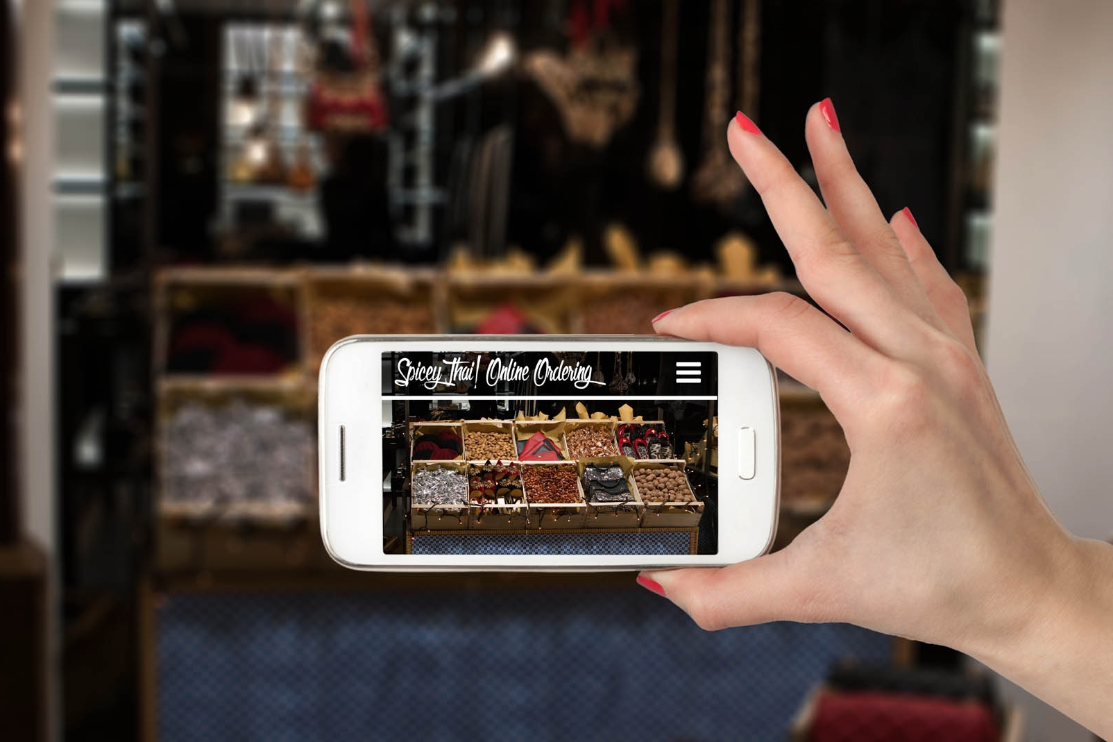 Create a frictionless guest experience. - Your brand will extend across devices, at every customer touchpoint, from mobile to in-store self-order touchscreens.