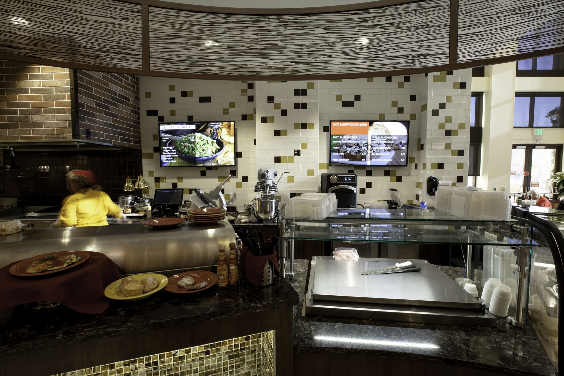 3. Seamlessly implement and manage multiple dining facilities -