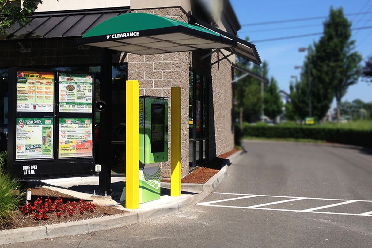 Increase profits. - With the Touchscreen Drive-Thru, customers buy more and order + pay faster. Within 6-8 months, the Touchscreen Drive Thru pays for itself.
